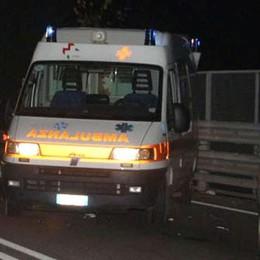 Lurago d'Erba: scontro auto moto  Un ferito molto grave