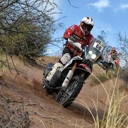Agazzi ha realizzato il sogno  È arrivato in fondo alla Dakar