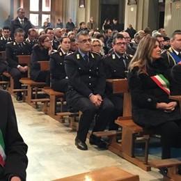 Tanti vigili commossi  per l'addio a Stefano  «Era un uomo di pace»