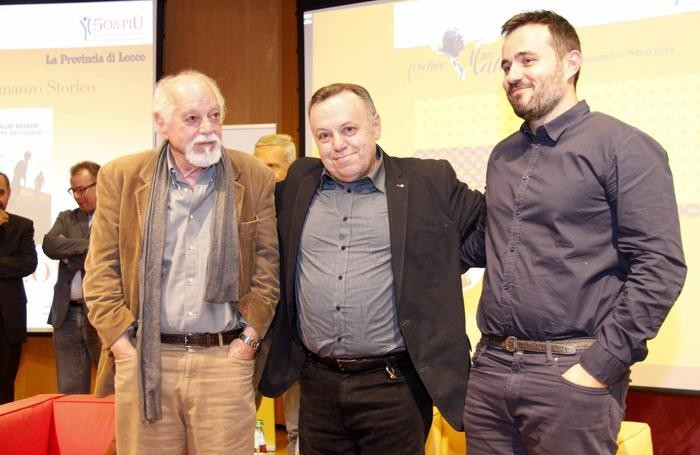 Da sin Gianfranco Calligarich , Eraldo Baldini e Valerio Callieri