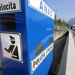 """Sulla """"36"""" da Lecco a Colico  si accendono gli autovelox"""