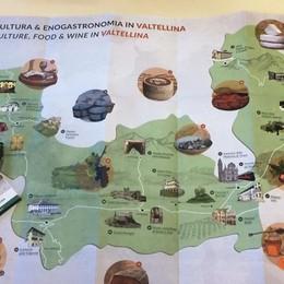 Cultura e buona tavola, la nuova cartina  per assaggiare la Valle