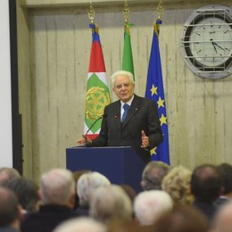 Mattarella a Brenna  ricorda Francesco Casati  «Figura esemplare»  Qui la diretta del convegno