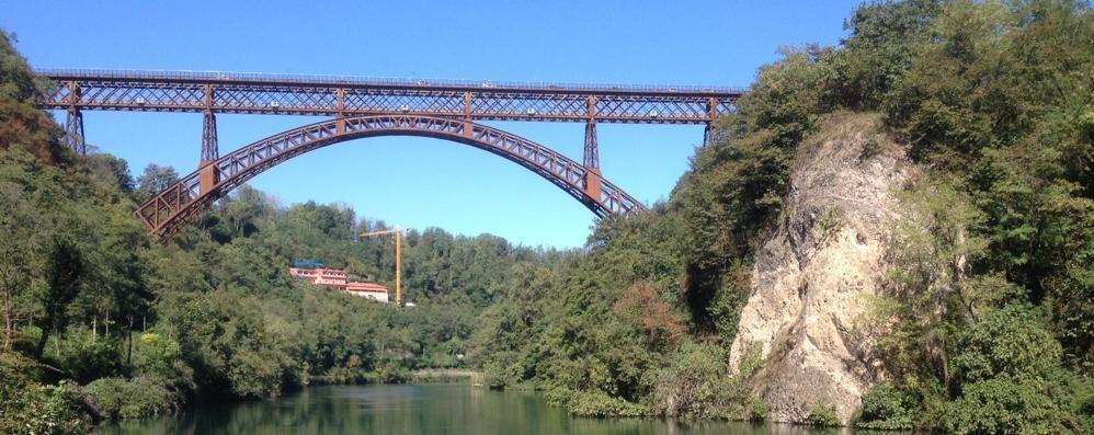 Il ponte di Paderno  pronto per il restyling  Gioiello di 130 anni