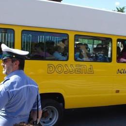 Gli scuolabus sono ecologici  A Merate lo smog si batte così