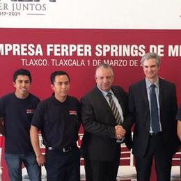 Da Bosisio a Tlaxco  Ferper Springs inaugura la fabbrica
