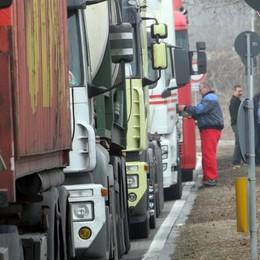 Autotrasportatori, la protesta  «Verso il blocco totale»