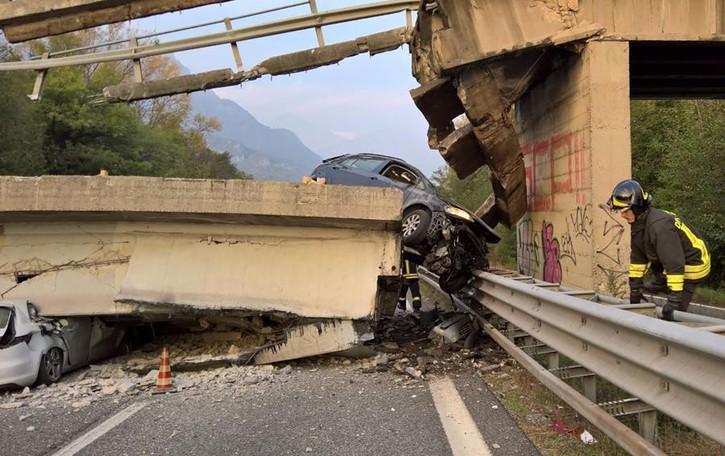 La difesa di Anas   «Il ponte crollato  non è roba nostra»
