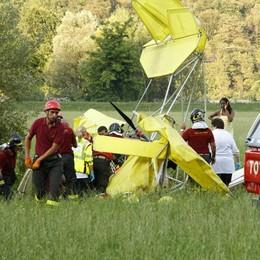 Cade un ultraleggero  Paura a Monte Marenzo