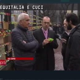I lucchetti de La Provincia  in onda ad Agorà, RaiTre  #rivogliamoilnostrolago