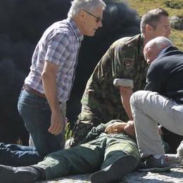 Elicottero in fiamme, salvò un uomo  Medaglia d'onore a Elio Cappelletti