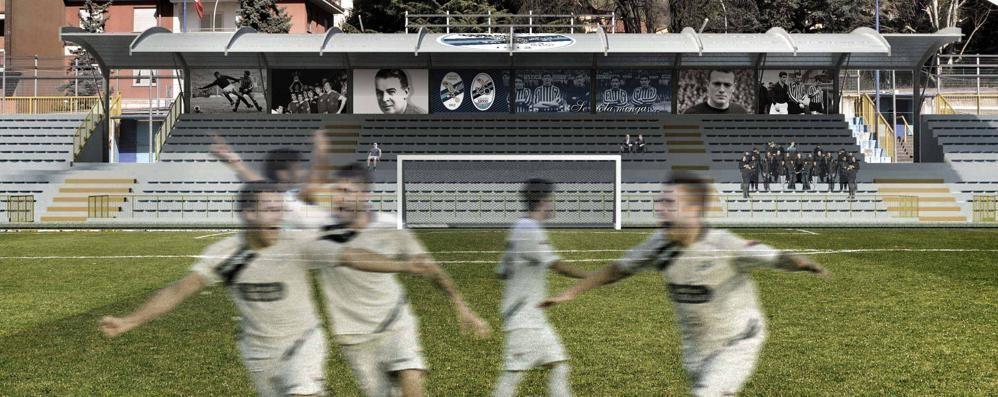 Lo stadio verrà adeguato   anche alla Lega Pro