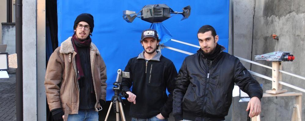 Lo Star Wars lecchese a Valmadrera  Sfida a effetti speciali di tre giovani cinefili