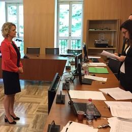 Erba, Veronica Airoldi proclamata sindaco  Subito negli uffici con il leghista Zoffili