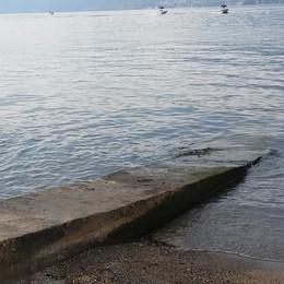 Varenna, liquami nel lago , cattivi odori  e allagamenti in piazza San Giorgio