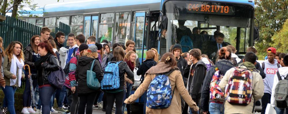 Merate, il quadrilatero dei bus  Idea contro il caos a scuola