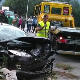 "Sorico, scontro mini van-auto  Cinque feriti sulla ""Regina"""