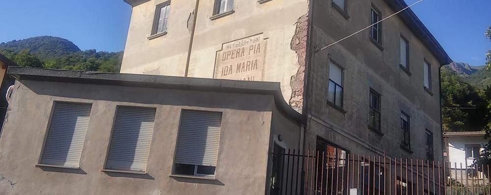 Una maxi stufa al posto del vecchio asilo  Pagata con i soldi della Cava di Cortabbio