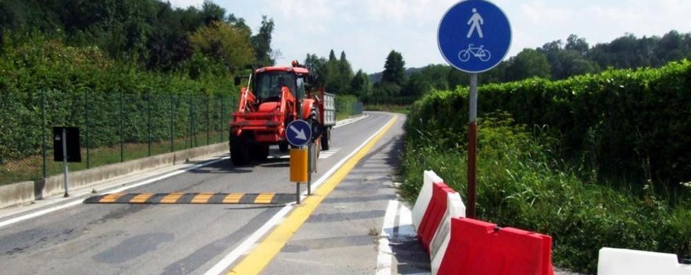 «Via Pilata di nuovo a doppio senso»  Il sindaco torna alla carica in Provincia