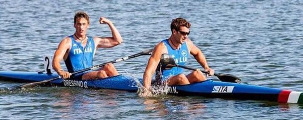 Via ai Mondiali di canoa  Tre le frecce all'arco lecchese