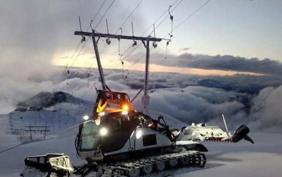 Sullo Stelvio si torna a sciare