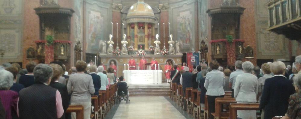 Oggiono, festa per Sant'Eufemia  La prima sagra affianca i riti religiosi