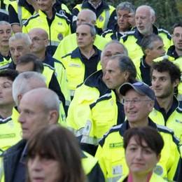 Protezione civile di Galbiate, nuova sede  «Trent'anni di altruismo e professionalità»
