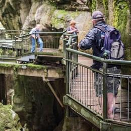 Visitatori triplicati nel giro di un anno  Il boom dell'Orrido fa ricco il Comune