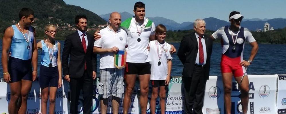 Imbattibile il gigante di Colico  È due volte campione italiano