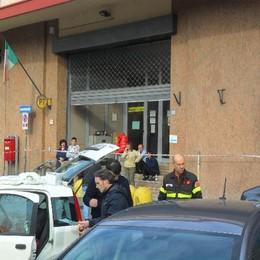 Allarme antrace ufficio postale Pavia