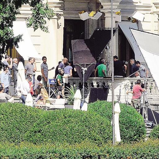 Villa Erba, Clooney Con Amal Spot Nespresso Superblindato
