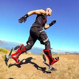 Correre a 40 Km/h con gli stivali bionici