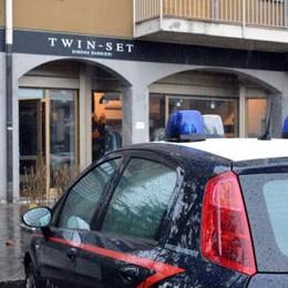 Colpo grosso  dei ladri alla moda  Via capi firmati  per 90mila euro