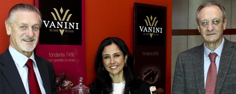Lecco: la first lady del Perù   ospite della fabbrica Icam