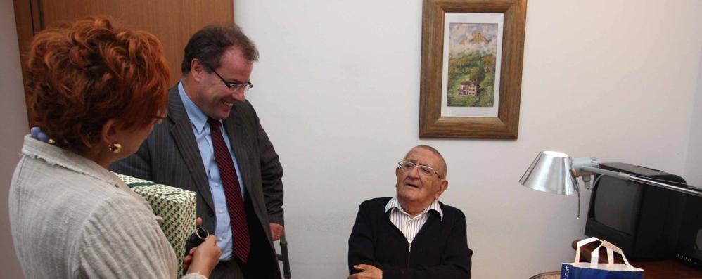 L'addio a Calvetti  onorevole e professore  Padre nobile di Lecco