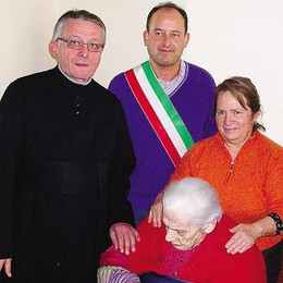 Addio a 106 anni  a Irene Pirola