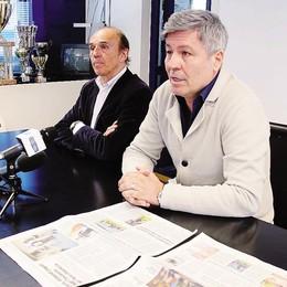 Calcio Lecco, il patron Galati  «Sanzioni per i  blucelesti»