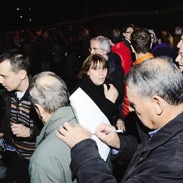 Valmadrera: Rusconi   tanti messaggi di sostegno