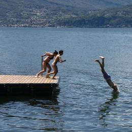 Il lago di Lecco? In ottima salute  Tutte le località sono balneabili