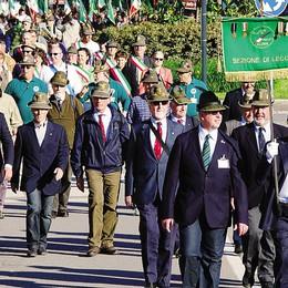 Alpini al  raduno nazionale  In 3.500 da Lecco in Friuli