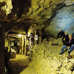 Fabio Fazio ai Resinelli  È andato anche in miniera