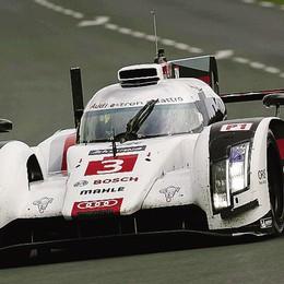 Auto, Bonanomi piede pesante  Test a Le Mans, l'Audi terza