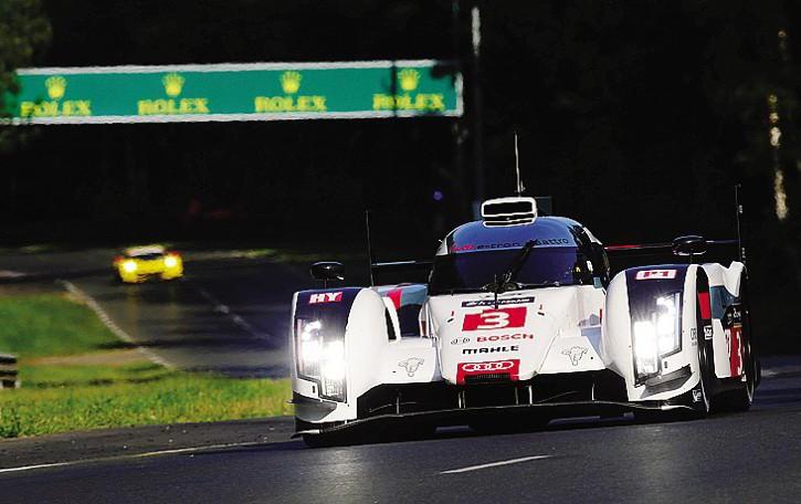 Bonanomi sfida  Le Mans  Con Audi alla mitica 24 ore