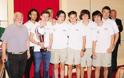 1 Gli Allievi provinciali della Sirtorese vincitrice della Coppa disciplina; 2 I Giovanissimi dell'Arcadia Dolzago primi nella  Coppa disciplina