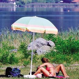 Rogeno e Bosisio, balneabilità ok  Molta attenzione in caso di alghe