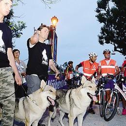 L'acqua non spaventa i lupi brianzoli  Tutti in sella per la pedalata  notturna
