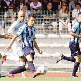 Calcio Lecco, Rigamonti  e il fiuto innato del gol