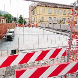 Corso Matteotti chiuso, che caos  Si cercano soluzioni alternative