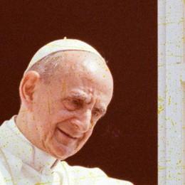 La reliquia di Paolo VI a Lecco  E' la canottiera dell'attentato