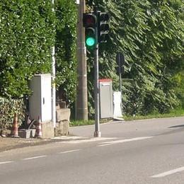 Filma chi passa con il rosso  Stangate al semaforo di Lambrugo